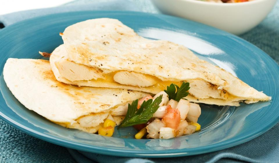 Colorful Quesadillas